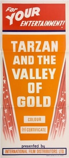 Tarzan and the Valley of Gold - Australian Movie Poster (xs thumbnail)
