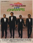 La course du lièvre à travers les champs - French Movie Poster (xs thumbnail)