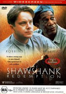 The Shawshank Redemption - Australian DVD movie cover (xs thumbnail)