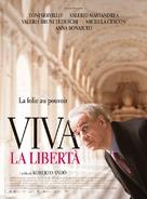 Viva la libertá - French Movie Poster (xs thumbnail)