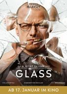 Glass - German Movie Poster (xs thumbnail)