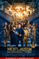 Night at the Museum: Secret of the Tomb - German Movie Poster (xs thumbnail)