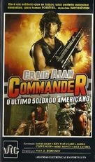 Commander - Brazilian VHS movie cover (xs thumbnail)