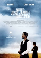 The Assassination of Jesse James by the Coward Robert Ford - Norwegian Movie Poster (xs thumbnail)