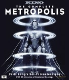 Metropolis - Blu-Ray movie cover (xs thumbnail)