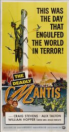 The Deadly Mantis - Theatrical movie poster (xs thumbnail)