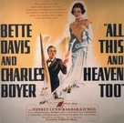 All This, and Heaven Too - Movie Poster (xs thumbnail)