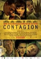 Contagion - Romanian Movie Poster (xs thumbnail)