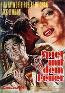 Fire Down Below - German Movie Poster (xs thumbnail)