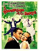 Dancing Lady - Belgian Movie Poster (xs thumbnail)