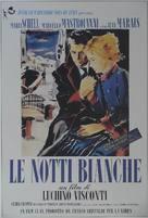Notti bianche, Le - Italian Movie Poster (xs thumbnail)