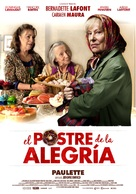 Paulette - Spanish Movie Poster (xs thumbnail)