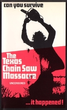 The Texas Chain Saw Massacre - British VHS movie cover (xs thumbnail)