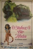 An Unmarried Woman - Turkish Movie Poster (xs thumbnail)