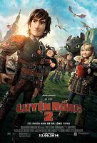 How to Train Your Dragon 2 - Vietnamese Movie Poster (xs thumbnail)