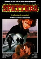 Spetters - German Movie Poster (xs thumbnail)