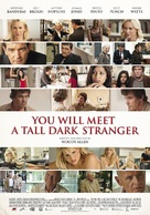 You Will Meet a Tall Dark Stranger - Norwegian Movie Poster (xs thumbnail)