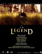 I Am Legend - For your consideration movie poster (xs thumbnail)