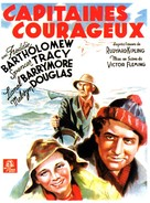 Captains Courageous - French Movie Poster (xs thumbnail)