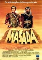 """""""Masada"""" - German Movie Poster (xs thumbnail)"""