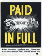 Paid in Full - Movie Poster (xs thumbnail)