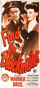 Find the Blackmailer - Australian Movie Poster (xs thumbnail)