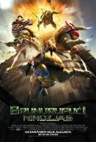 Teenage Mutant Ninja Turtles - Latvian Movie Poster (xs thumbnail)