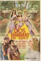 Pardon My Sarong - Spanish Movie Poster (xs thumbnail)