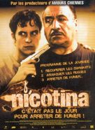 Nicotina - French Movie Poster (xs thumbnail)