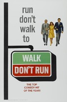 Walk Don't Run - Theatrical movie poster (xs thumbnail)