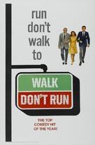 Walk Don't Run - Theatrical poster (xs thumbnail)