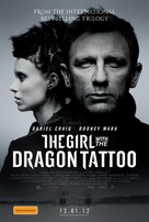 The Girl with the Dragon Tattoo - Australian Movie Poster (xs thumbnail)