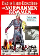The War Lord - German Movie Poster (xs thumbnail)