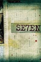 Se7en - DVD movie cover (xs thumbnail)