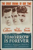 Tomorrow Is Forever - Re-release movie poster (xs thumbnail)