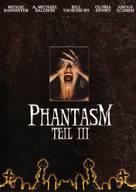 Phantasm III: Lord of the Dead - German DVD cover (xs thumbnail)