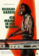 Man in the Wilderness - German Movie Poster (xs thumbnail)
