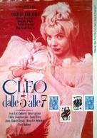 Cléo de 5 à 7 - Italian Movie Poster (xs thumbnail)