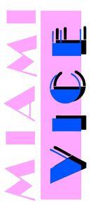 """""""Miami Vice"""" - Logo (xs thumbnail)"""