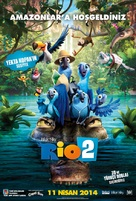 Rio 2 - Turkish Movie Poster (xs thumbnail)