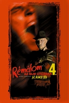 A Nightmare on Elm Street 4: The Dream Master - Hungarian Movie Cover (xs thumbnail)