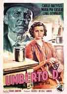 Umberto D. - Italian Movie Poster (xs thumbnail)