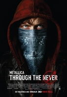 Metallica Through the Never - Canadian Movie Poster (xs thumbnail)