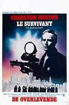 The Omega Man - Belgian Movie Poster (xs thumbnail)