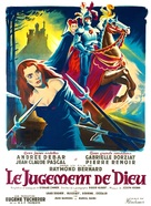 Le jugement de Dieu - French Movie Poster (xs thumbnail)