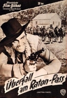 Raton Pass - German poster (xs thumbnail)