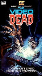 The Video Dead - VHS movie cover (xs thumbnail)
