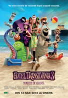 Hotel Transylvania 3: Summer Vacation - Romanian Movie Poster (xs thumbnail)