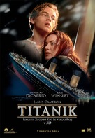 Titanic - Slovenian Movie Poster (xs thumbnail)