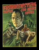 Frankenstein Must Be Destroyed - German Movie Poster (xs thumbnail)
